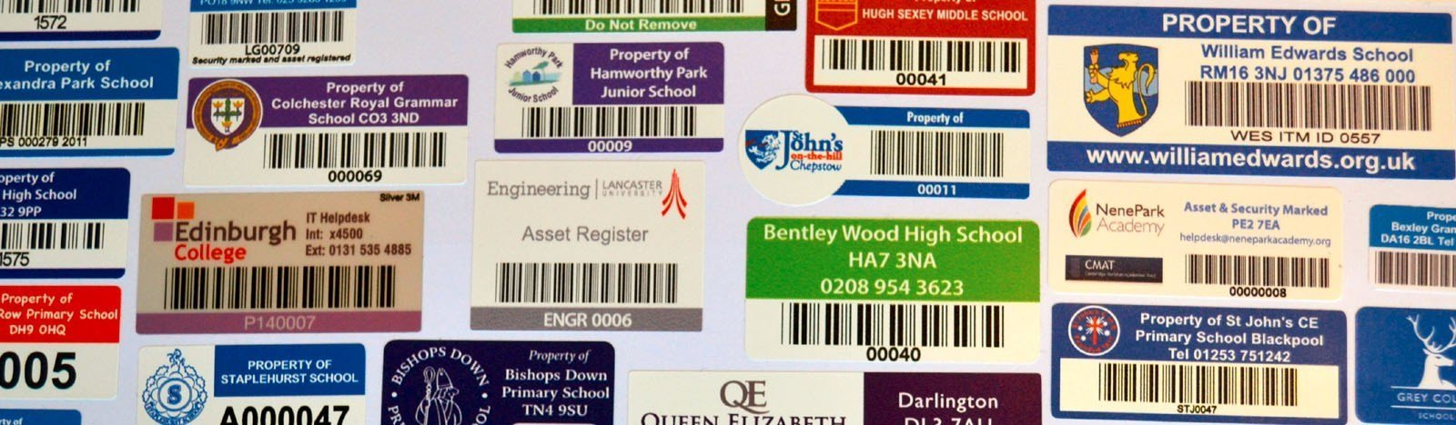 Application and Benefits of Serial Number Stickers - Custom Printed