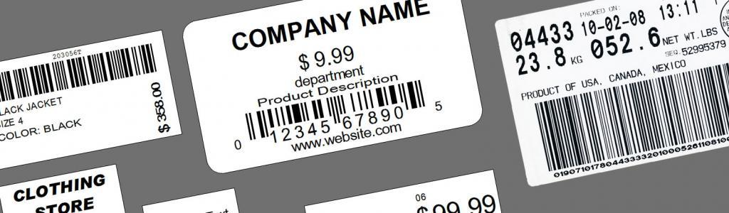 barcode number sticker labels multicolorlabels