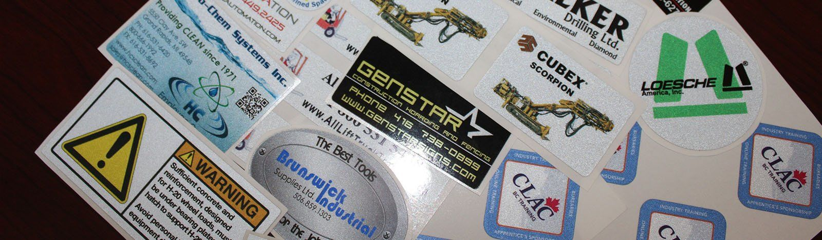 Waterproof Labels Multicolor Labels California