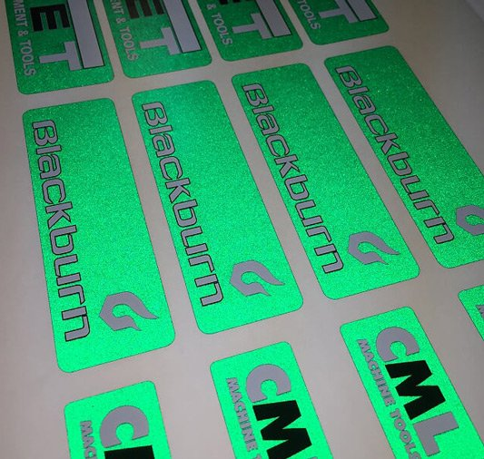 Reflective Stickers Custom Printed Labels Amp Decals