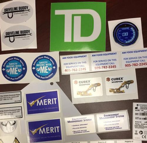 Custom Made Reflective Stickers