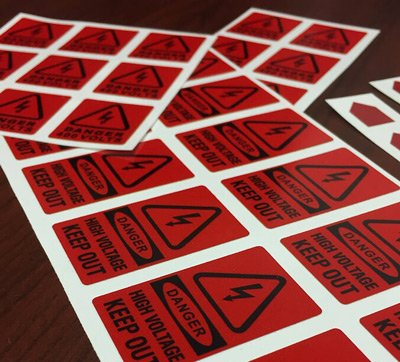 Waterproof Labels shipping to California